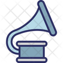 Gramophone Music Instrument Phonograph Icon