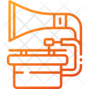 Gramophone Audio Player Musical Instrument Icon