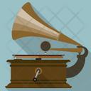 Vintage gramophone Icon