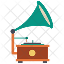 Gramophone Music Record Icon