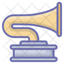 Turntable Music Player Recorder Icon