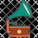 Gramophone Vinyl Record Record Icon