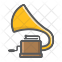 Gramophone Phonograph Audio Icon