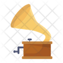 Gramophone Phonograph Stereo Icon