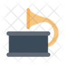 Gramophone Musical Instrument Icon