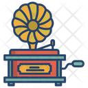 Gramophone Music Turntable Icon