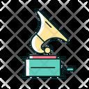 Gramophone Music Vinyl Icon
