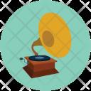 Gramophone Music Musical Icon