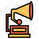 Gramophone Music Playback Icon
