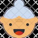 Grand Ma Smiley Avatar Icon