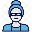 Grand Mother Old Avatar Icon
