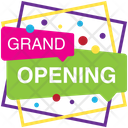 Grand Opening Opening Soon Logo Opening Soon Badge Icon