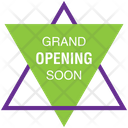 Grand Opening Soon Icon