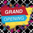 Grand Opening Soon Opening Soon Logo Opening Soon Badge Icon