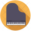 Grand Piano Keyboard Icon