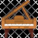 Grand Piano Keyboard Piano Musical Keyboard Icon