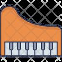 Grand Piano Piano Keyboard Piano Icon