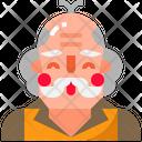 Grandfather Man Male Icon