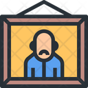 Grandfather Photo Frame Frame Icon