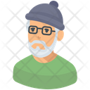 Grandfather Old Man Senior Citizen Icon