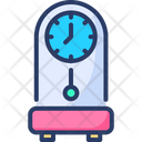 Grandfather Clock Pendulum Chime Icon
