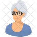 Grandmother Old Lady Old Woman Icon