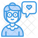 Grandmother Love Grandmother Old Woman Icon