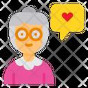 Grandmother Love Icon