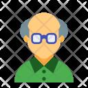 Grandpa Old Man Icon