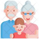 Grandpa Grandma Grandfather Icon