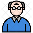Grandpa Old Man Old People Icon