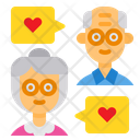 Grandparents Chat Icon