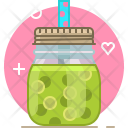 Grape Smoothie Drink Icon