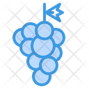 Grape Grapes Fruit Icon