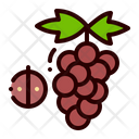 Fruit Food Grape Icon