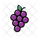Grape Icon Fruit Food And Drink Icon