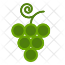 Grape Fruit Fall Icon