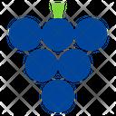 Healthy Fruit Grape Icon