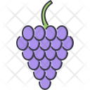 Grape Fruit Cooking Icon