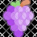 Grape Fruit Healthy Food Icon