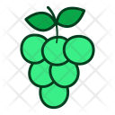 Grapes Fruits Icon