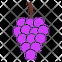 Grape Nutrition Fresh Icon
