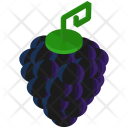 Grape Fruit Healthy Icon