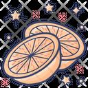 Grapefruit Organic Fruit Natural Food Icon