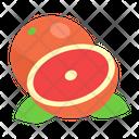Grapefruit Fruit Diet Icon