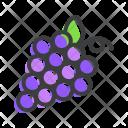 Grapes Fruit Vine Icon