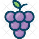 Grapes Fruit Food Icon