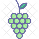 Bunch Of Grapes Food Fruit Icon