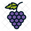 Grape Grapes Fruit Icon