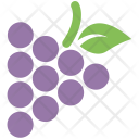 Grapes Fruit Red Icon